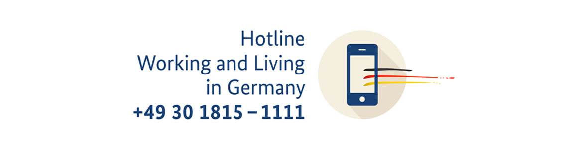 Hotline Working and Living in Germany